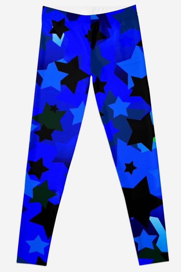 Punk Rock Stars Blue by blakcirclegirl