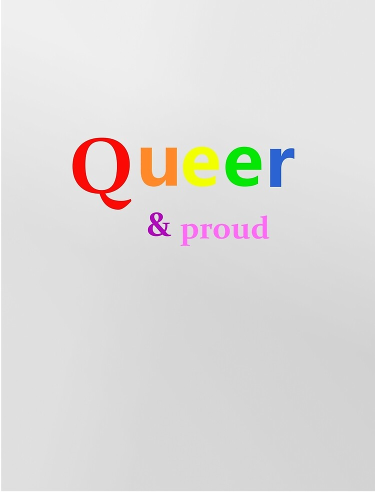 QUEER & PROUD by olive-tree