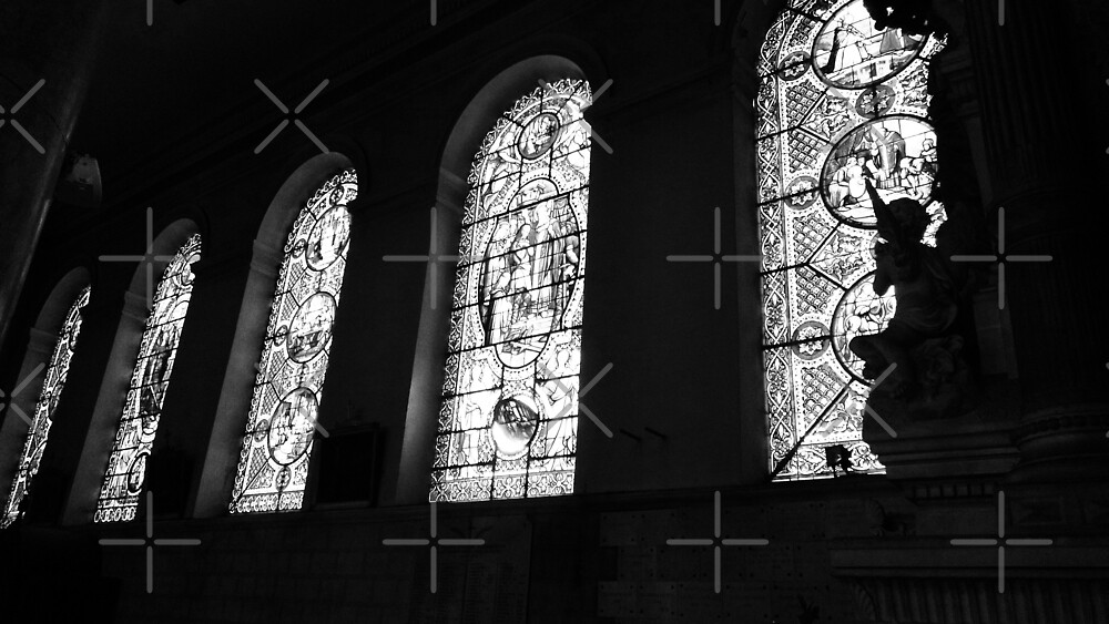 Windows of St. Vincent by richwear