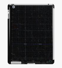 USGS TOPO Map Iowa IA Rush Lake East 20130415 TM Inverted iPad Case/Skin