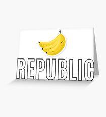 Banana Republic Greeting Card