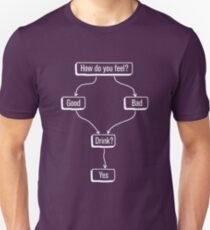 Drink Flowchart T-Shirt