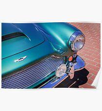 1960 Aston Martin DB4 Series II Grille -0628c Poster