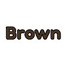 Dark Brown Bubble Font by alaswell