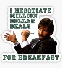 Die Hard- Ellis - Million Dollar Deals Sticker