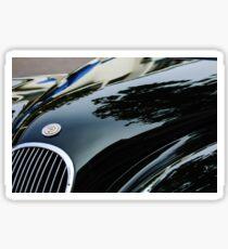 1954 Jaguar XK 120 Roadster Hood Emblem -1146c Sticker
