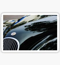 1954 Jaguar XK 120 Roadster Hood Emblem -1146c Sticker