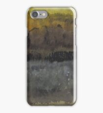 Approach to the Ruins original painting iPhone Case/Skin