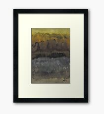 Approach to the Ruins original painting Framed Print