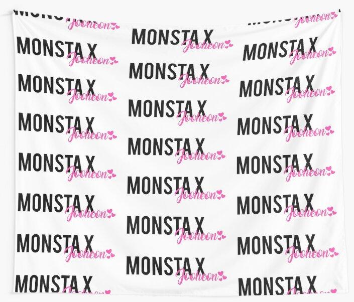 Monsta X Jooheon Text Design by PaolaAzeneth