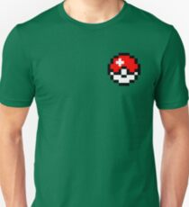Pokeball 16 Bit Unisex T-Shirt