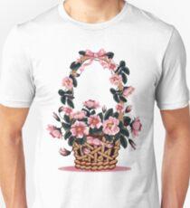 Beautiful Flower Basket Unisex T-Shirt