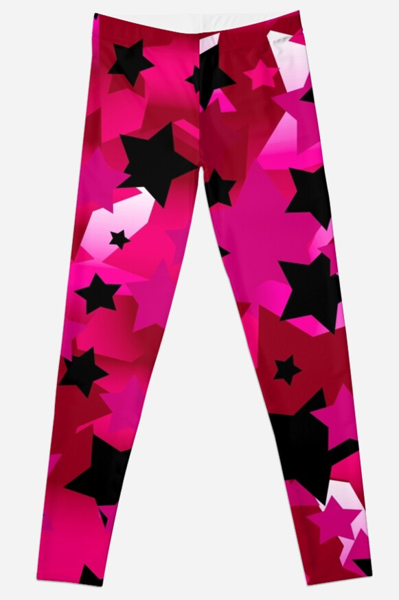 Punk Rock Stars Pink by blakcirclegirl