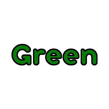 Green Bubble Font by alaswell