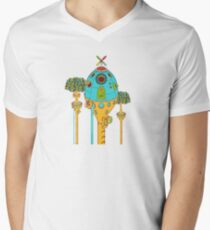 Armadillo Pod, from the AlphaPod collection Mens V-Neck T-Shirt