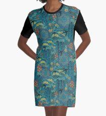 Japanese Garden Graphic T-Shirt Dress