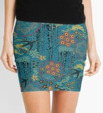 Japanese Garden Mini Skirt