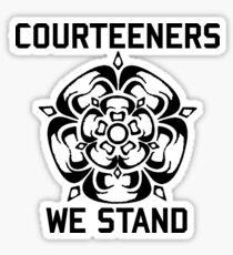 Courteeners We Stand Sticker