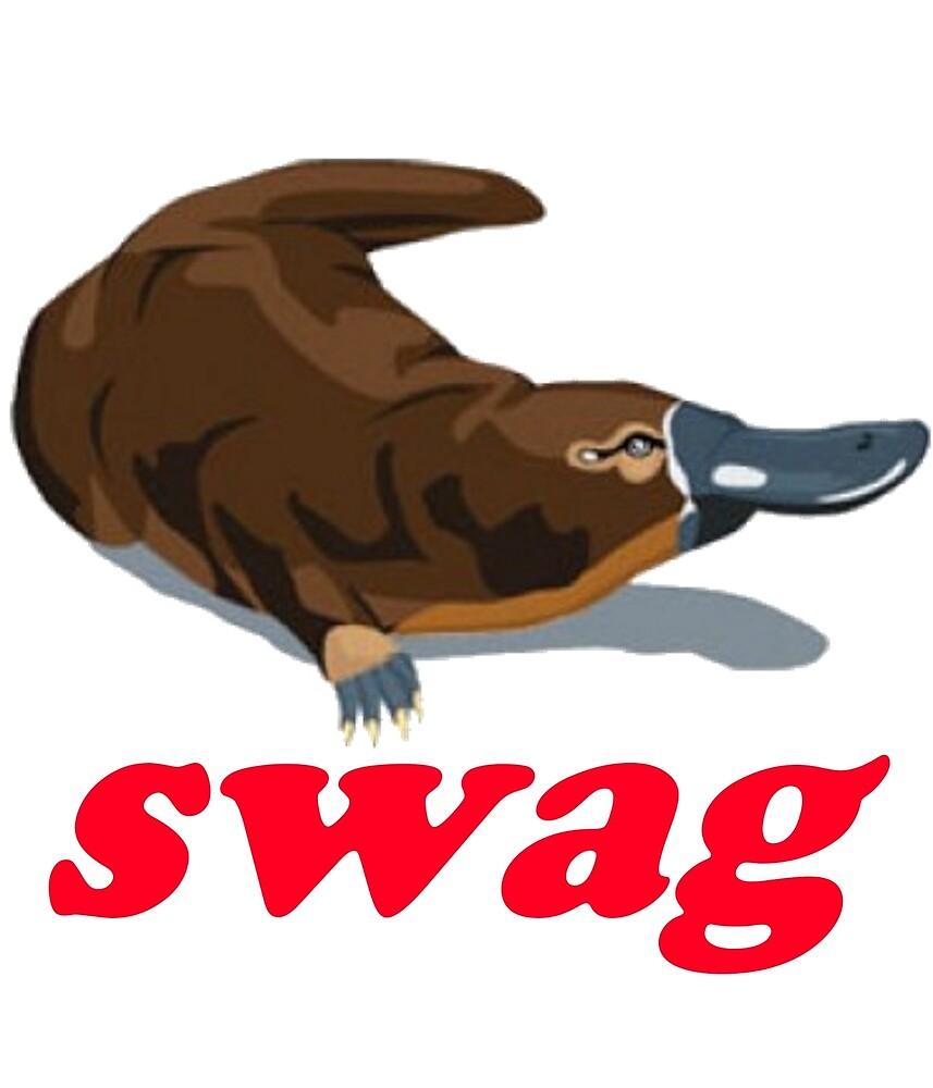 Swag Platypus  by godlymagikarp