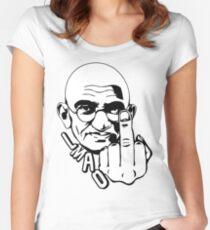 Gandhi - Parody Women's Fitted Scoop T-Shirt