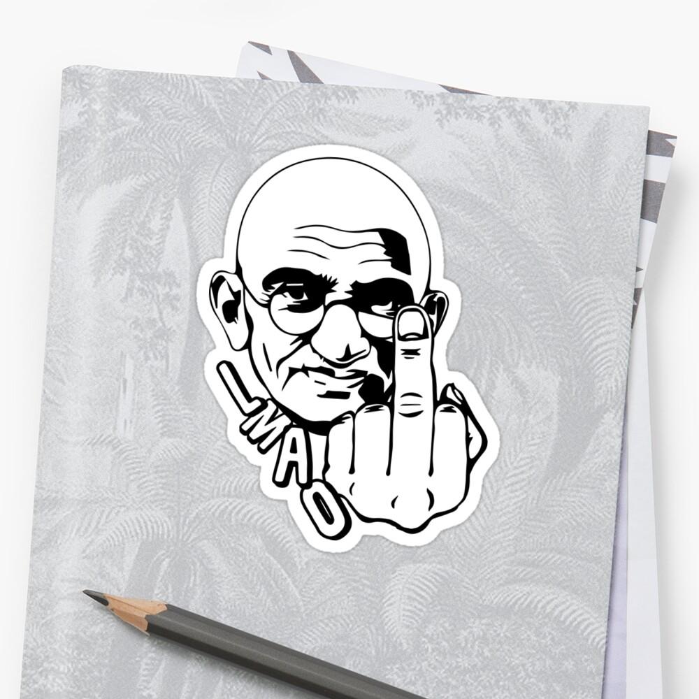 Gandhi - Parody by WaltArt
