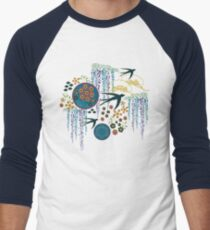 Japanese Garden Men's Baseball ¾ T-Shirt
