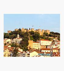 Lisbon View - Castelo São Jorge - Saint Jorge Castle Photographic Print