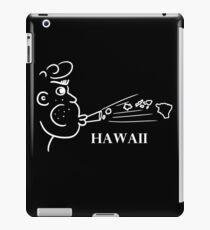 A funny map of Hawaii  iPad Case/Skin