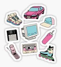 90s paradise by Elebea Sticker