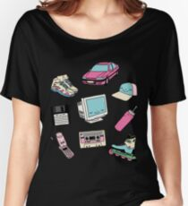 90s paradise by Elebea Women's Relaxed Fit T-Shirt