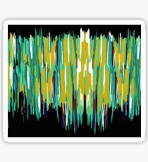 Creek An Abstract Painting Sticker