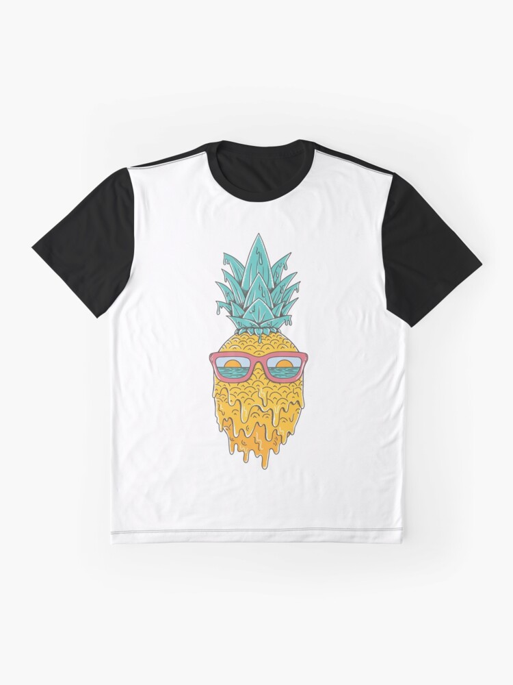 Alternate view of Pineapple Summer Graphic T-Shirt
