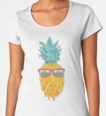 Pineapple Summer Women's Premium T-Shirt