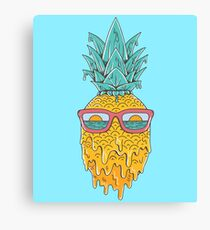 Pineapple Summer Canvas Print