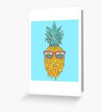 Pineapple Summer Greeting Card