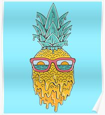 Pineapple Summer Poster