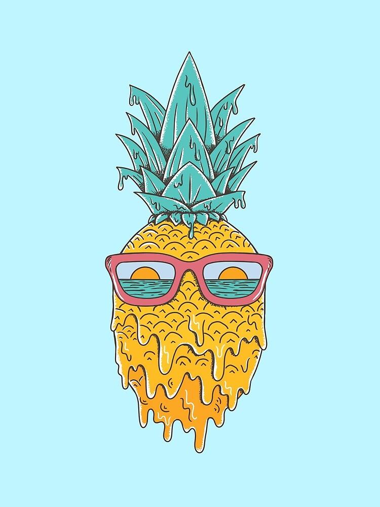Pineapple Summer by coffeeman