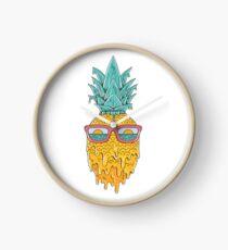 Pineapple Summer Clock