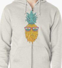 Pineapple Summer Zipped Hoodie