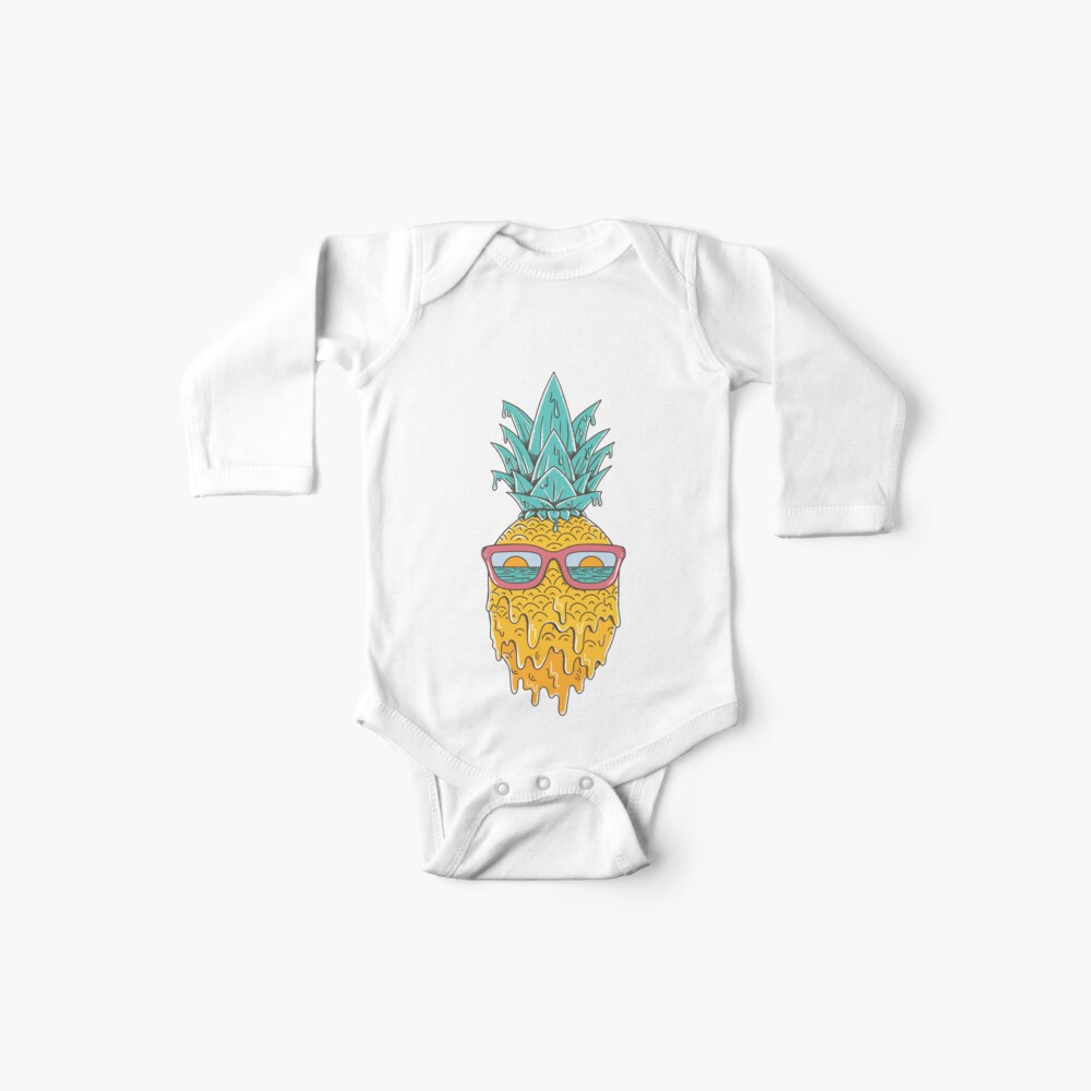 Pineapple Summer Baby One-Piece