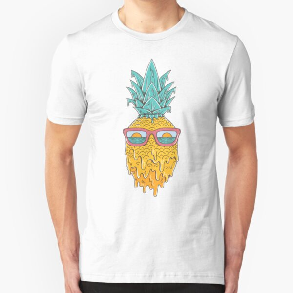 Pineapple Summer Slim Fit T-Shirt