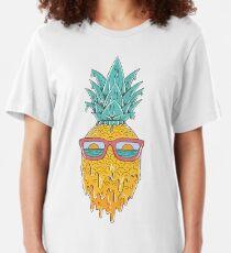 Ananas été T-shirt ajusté