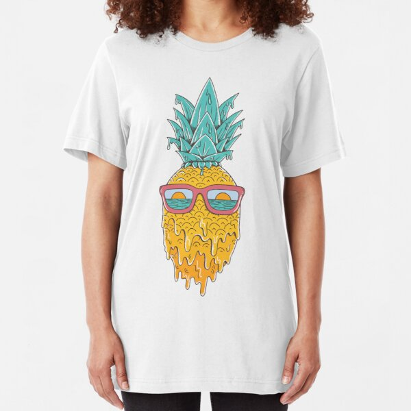 Pineapple Summer Slim Fit T-Shirt
