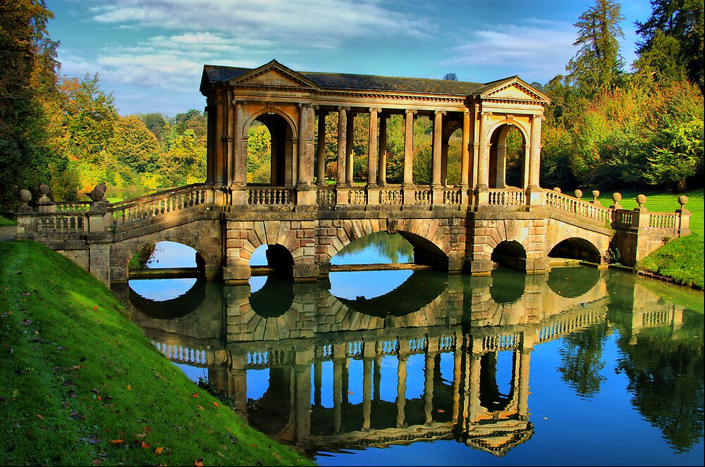 Palladian Bridge Prior Park Bath