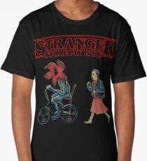 Horror Stranger Stole My Bike Long T-Shirt