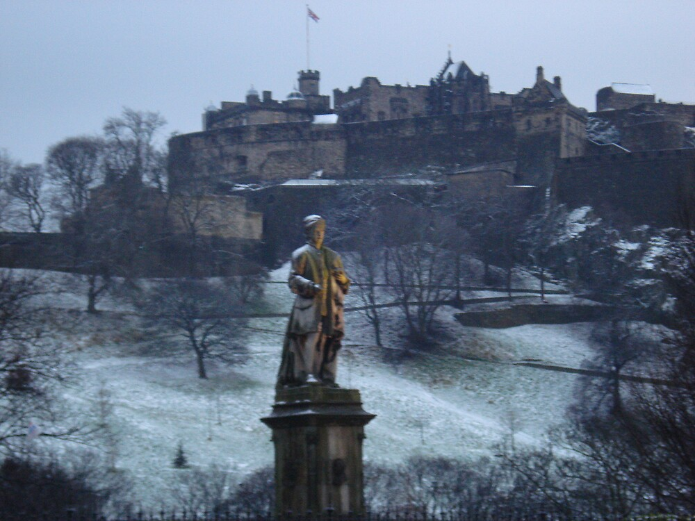 Edinburgh Castle by Deirdre969