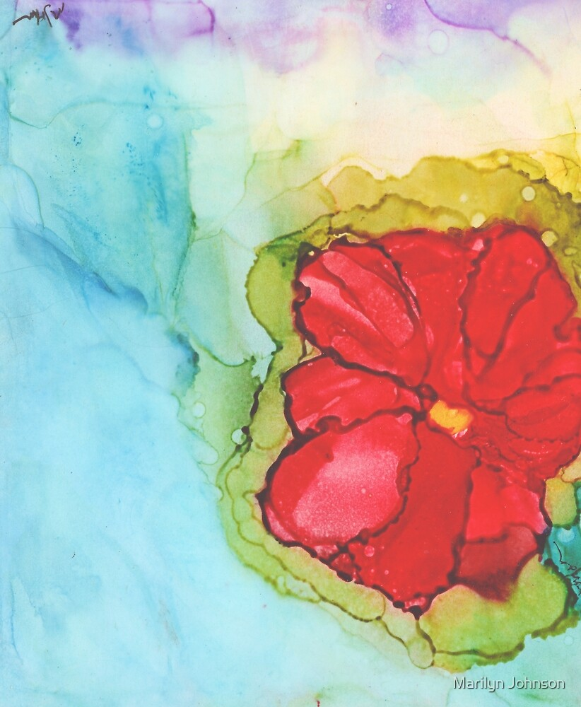 Tuesday's Flower by Marilyn Johnson