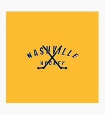 Nashville Hockey Photographic Print