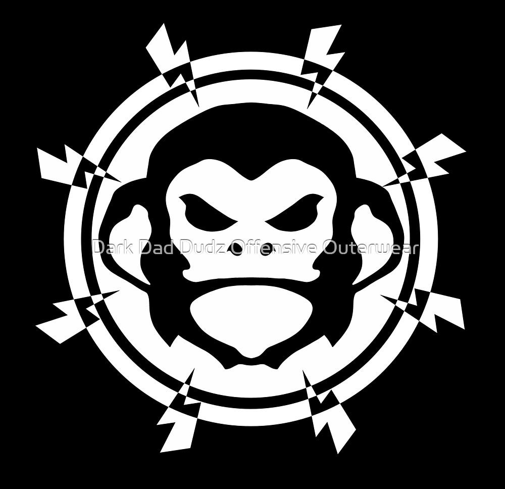 Monkey Shock by Dark Dad Dudz Offensive Outerwear