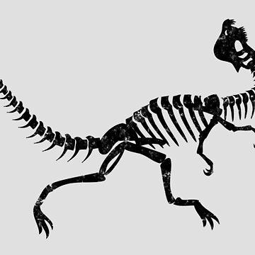 Dilophosaurus by tr1449